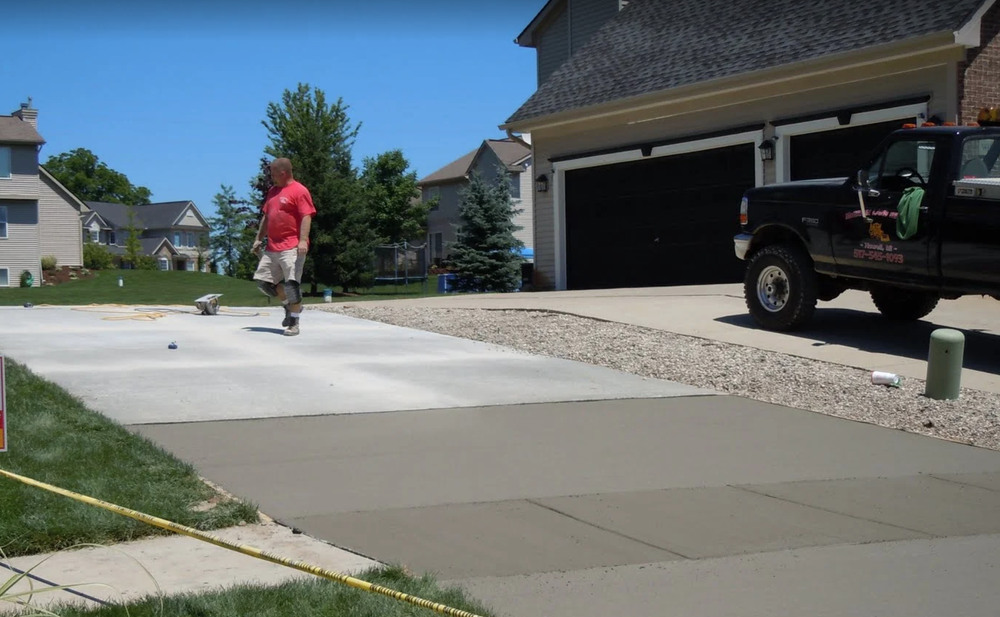 Concrete installation, repair and replacement work in Livingston County, MI