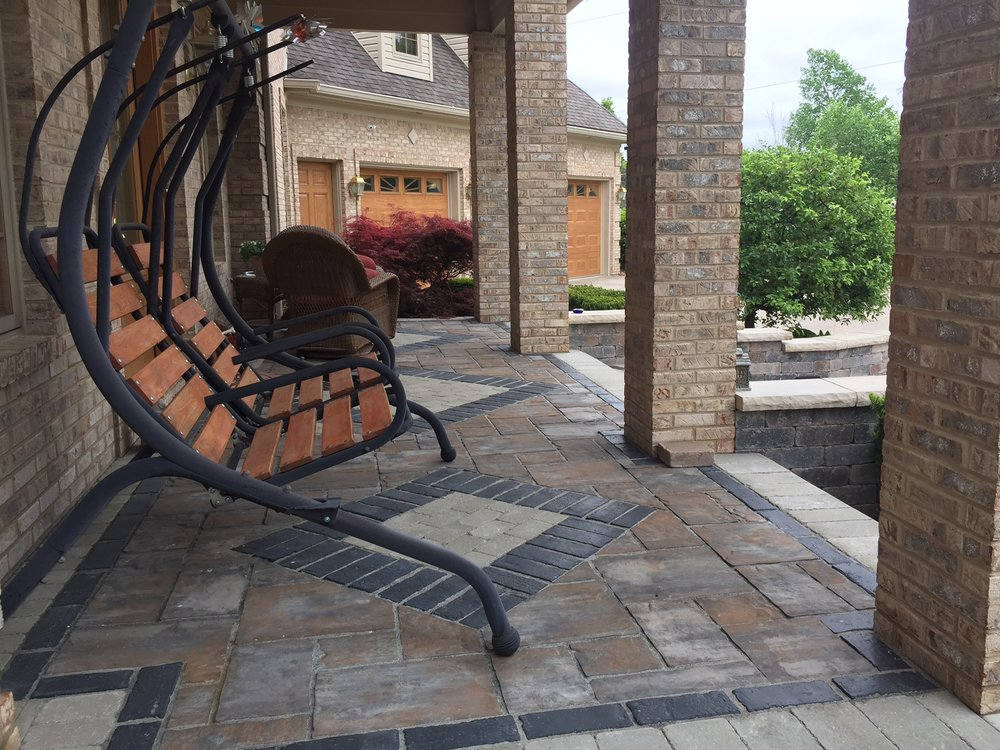Hardscaping, concrete construction company in Livingston County, MI