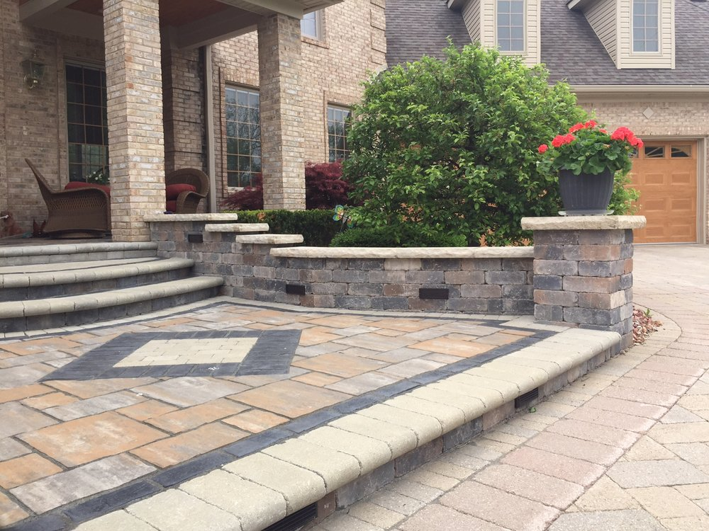 Hardscaping, brick paving  in Livingston County, MI