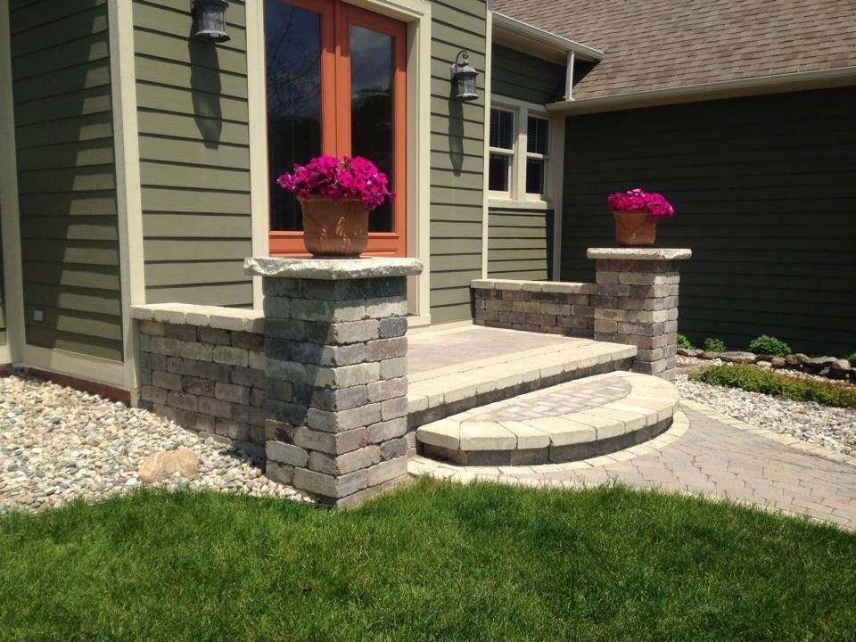 Hardscaping, concrete construction services in Livingston County, MI