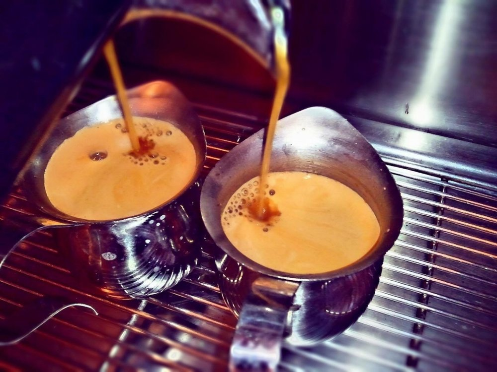Delicious coffee - your work break coffee needs are guaranteed awesome because we use Sunergos Coffee and espresso.
