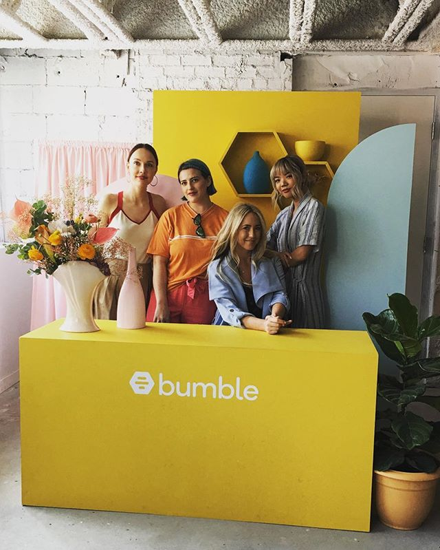 With the @kastorandpollux crew at @bumble_canada 's #bumblehivetoronto