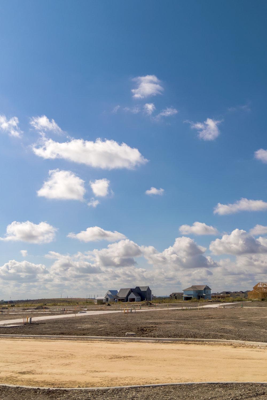 Texas Prairie I: Open Sky