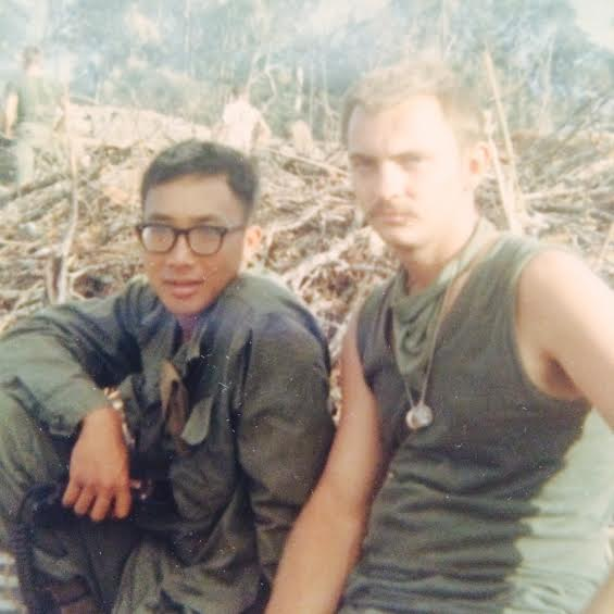 Kay Lee and John Nordeen in Vietnam, circa 1967