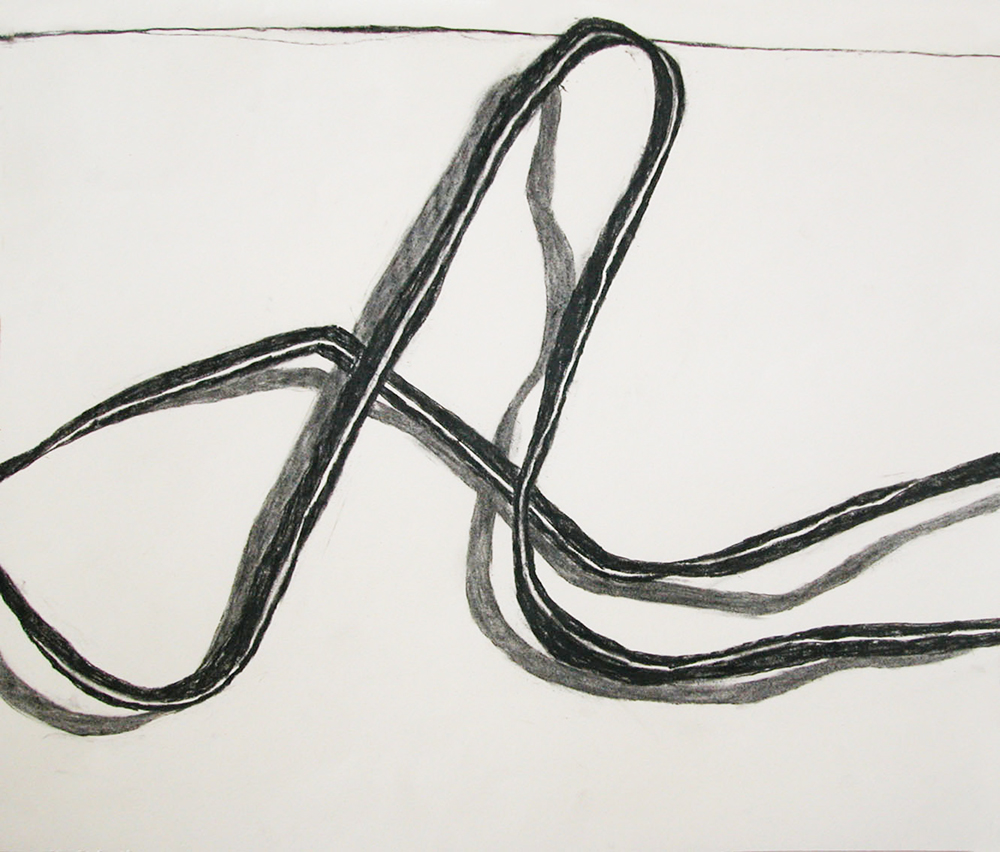 no. 26, 2002  charcoal on paper