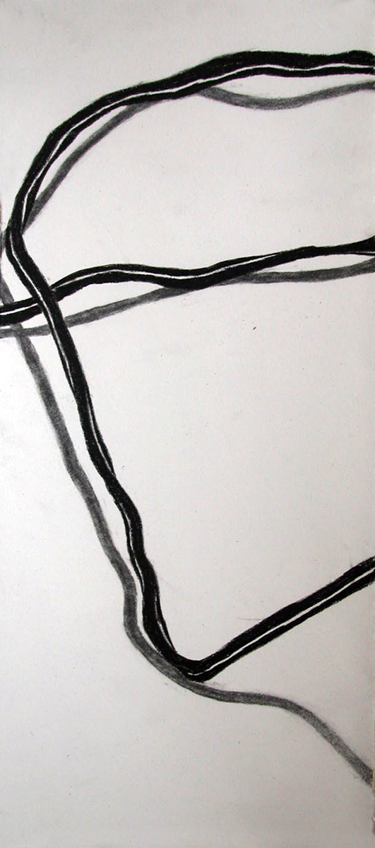no. 38, 2002  charcoal on paper