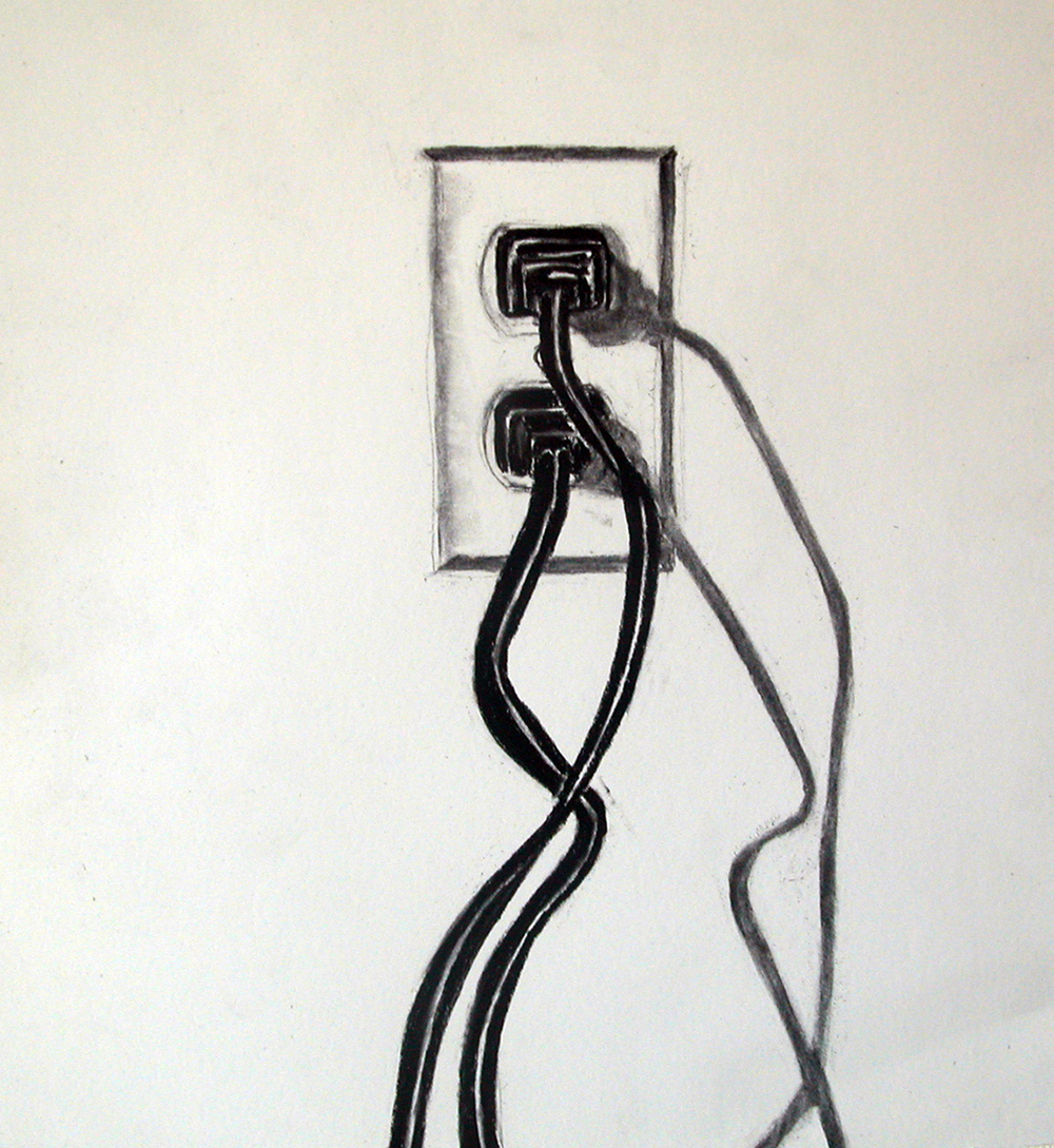 no. 59, 2003  charcoal on paper