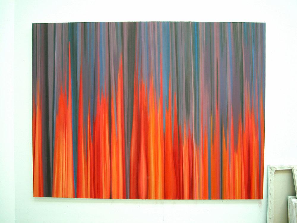 Intermission, 2007  oil on canvas  80 x 90 cm
