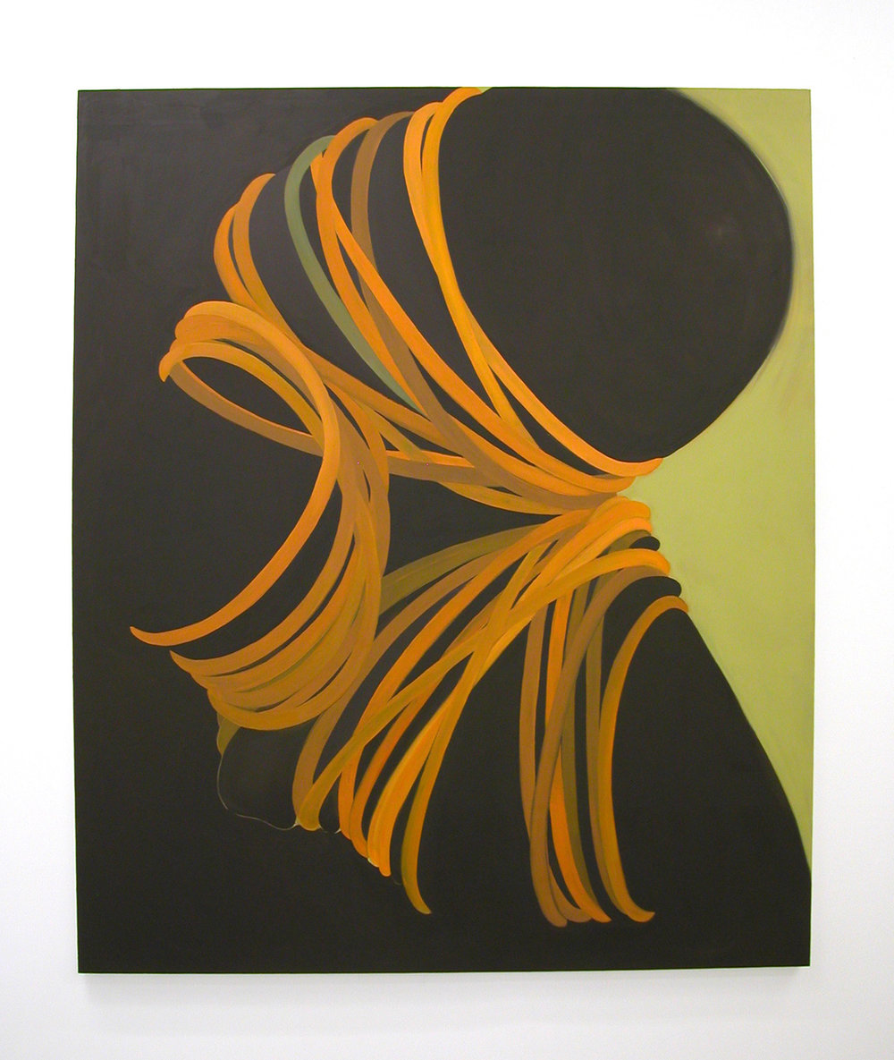 Squeeze, 2006  oil on canvas  60 x 50 in.