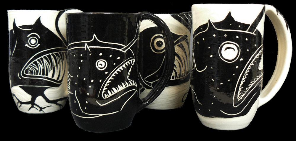 Anglerfish: Devilfish, Football, Viperfish, Football