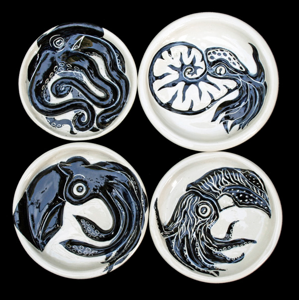 Cephalopod Soap dishes