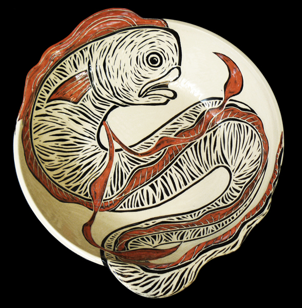 Oarfish Large 3D Bowl