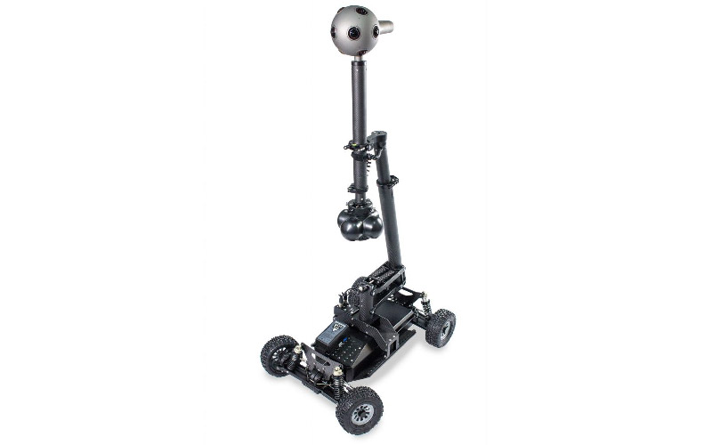 If you do decide to move the camera, remote dolly systems like the  Mantis 360  can help make your shots nice and smooth.