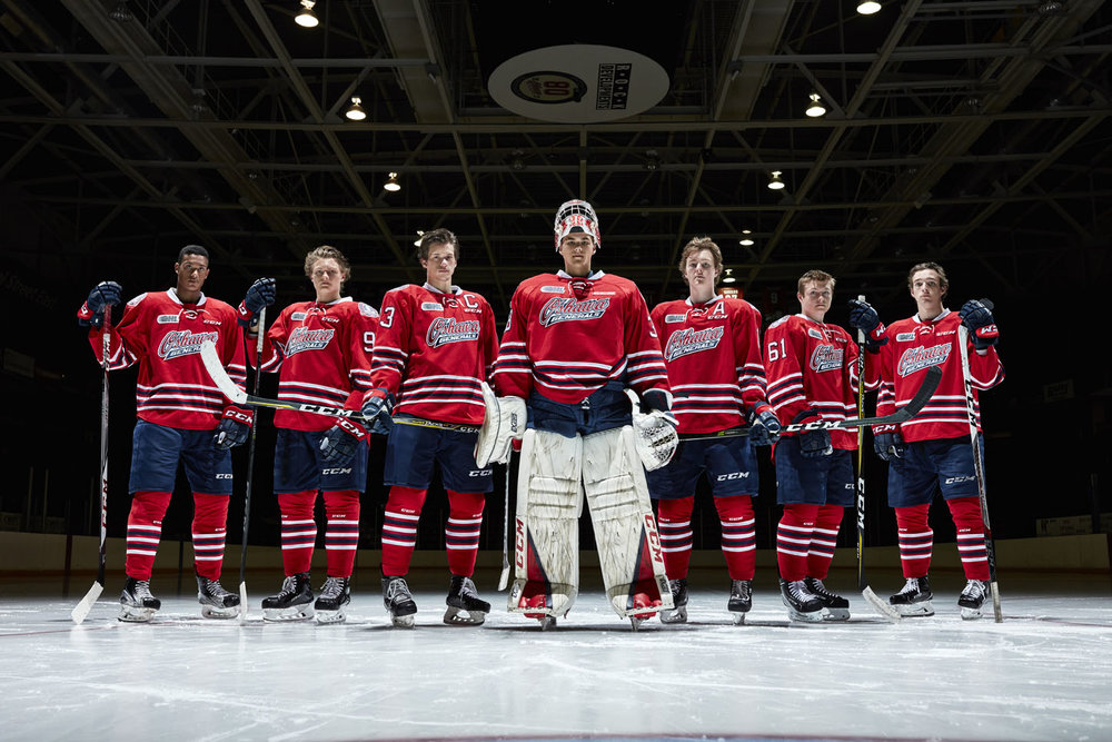 4d4371525ec Oshawa Generals 2017-18 Media Day — Goodall Media