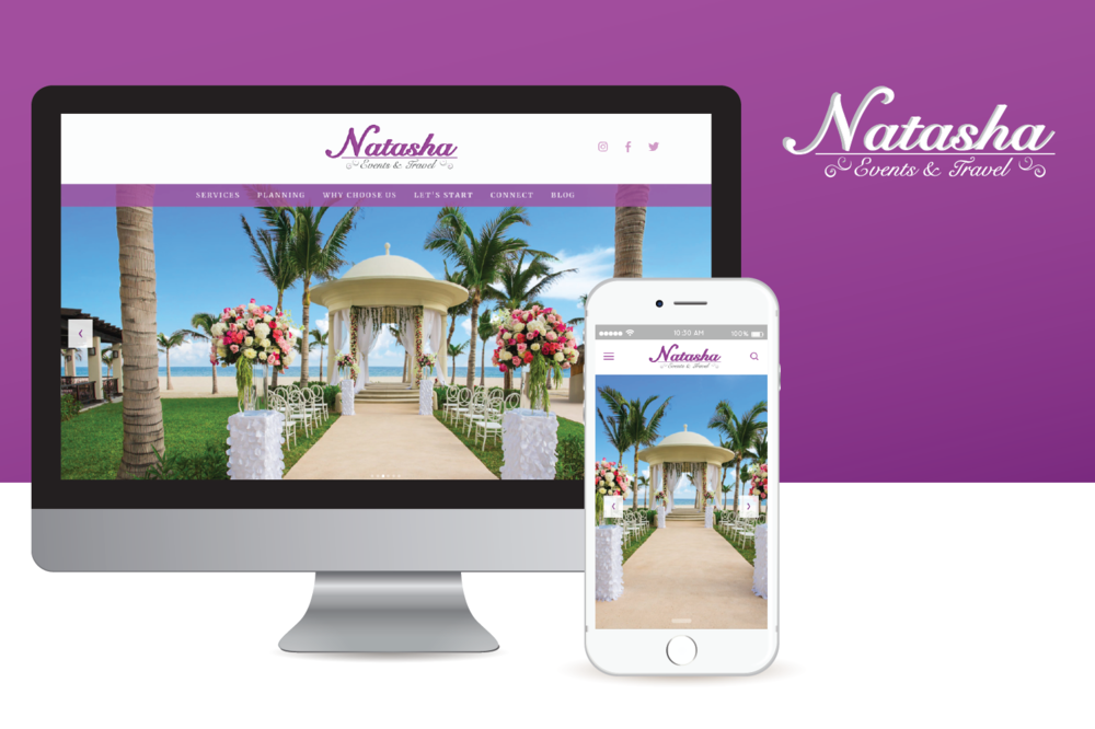 Natasha Events & Travel Website
