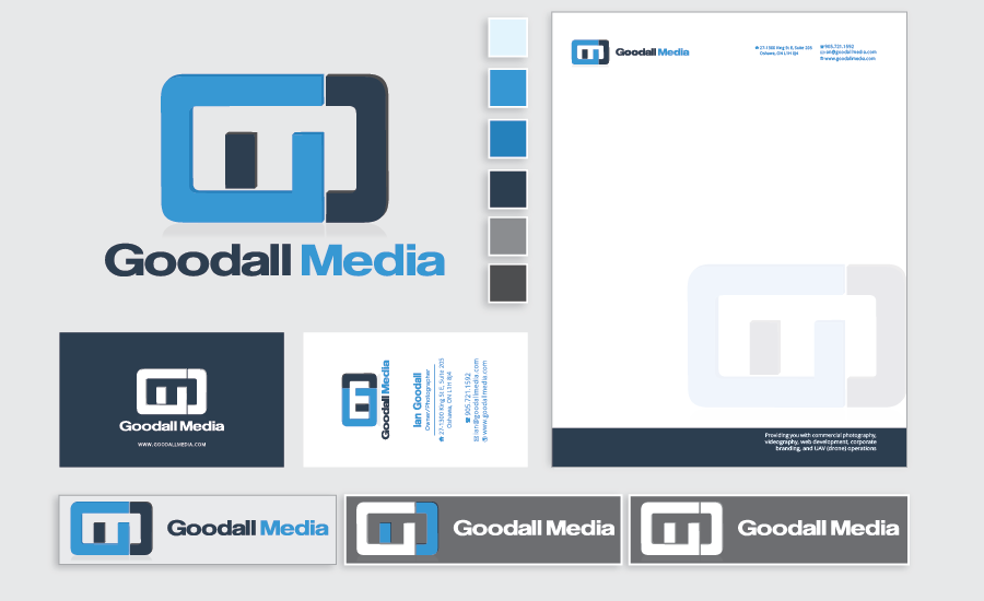 Goodall Media Branding