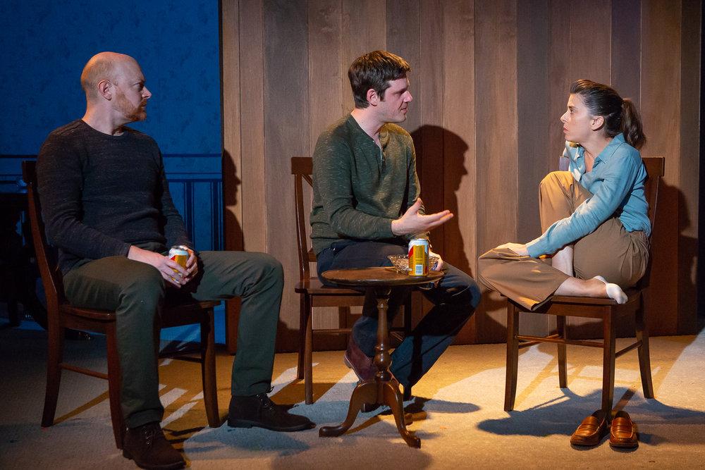 Jeff Biehl, Michael Esper, and Jeanine Serralles