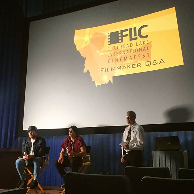 What an absolute pleasure it was to screen our film to the good folks of Montana at the Flathead Lake International Cinemafest. Pictured here are our filmmakers Jesse and Patrick alongside festival programmer David W King. It was encouraging to hear the feedback from an American audience and see how committed Americans are to finding solutions for the problem of gun violence in the United States, especially around their students.  Thank you so much Polson, til next time ✌