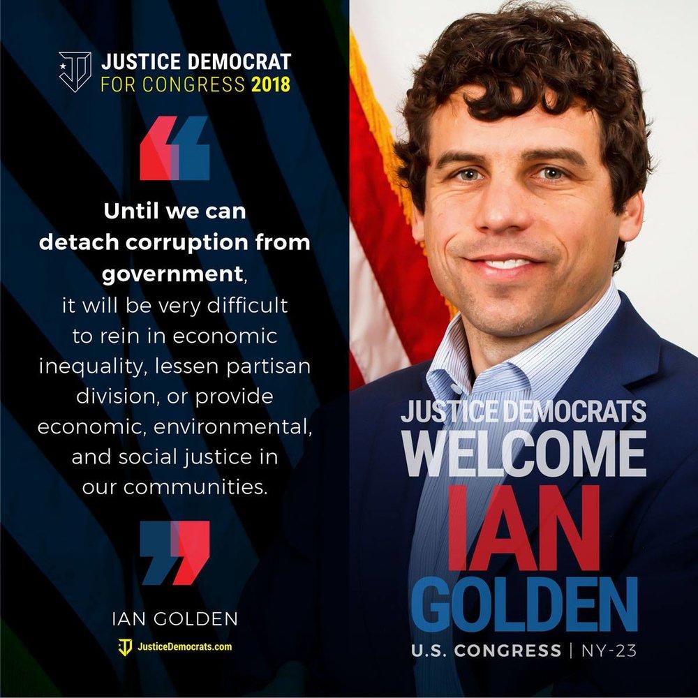 JusticeDemocratsIanGolden