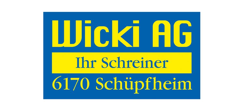 Wicki AG, Schreinerei, Innenausbau, Möbel