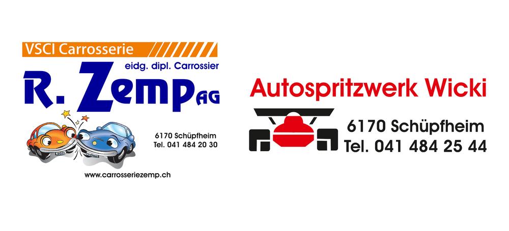 Carrosserie R. Zemp AG / Autospritzwerk Wicki