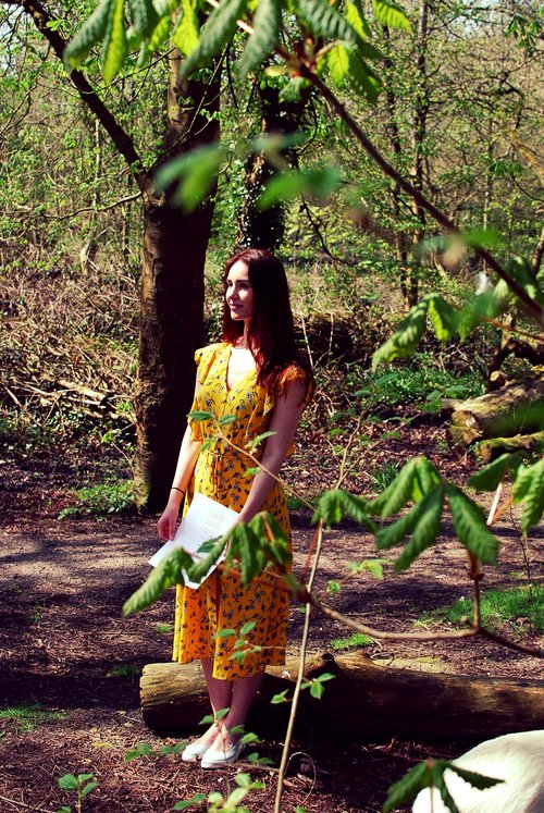 Woodland Workshop : A green-creative writing workshop being held at Aintree University Hospital NHS Bluebell Woods site. Led by Bernadette McBride - founder of The Hedge Arts Project.