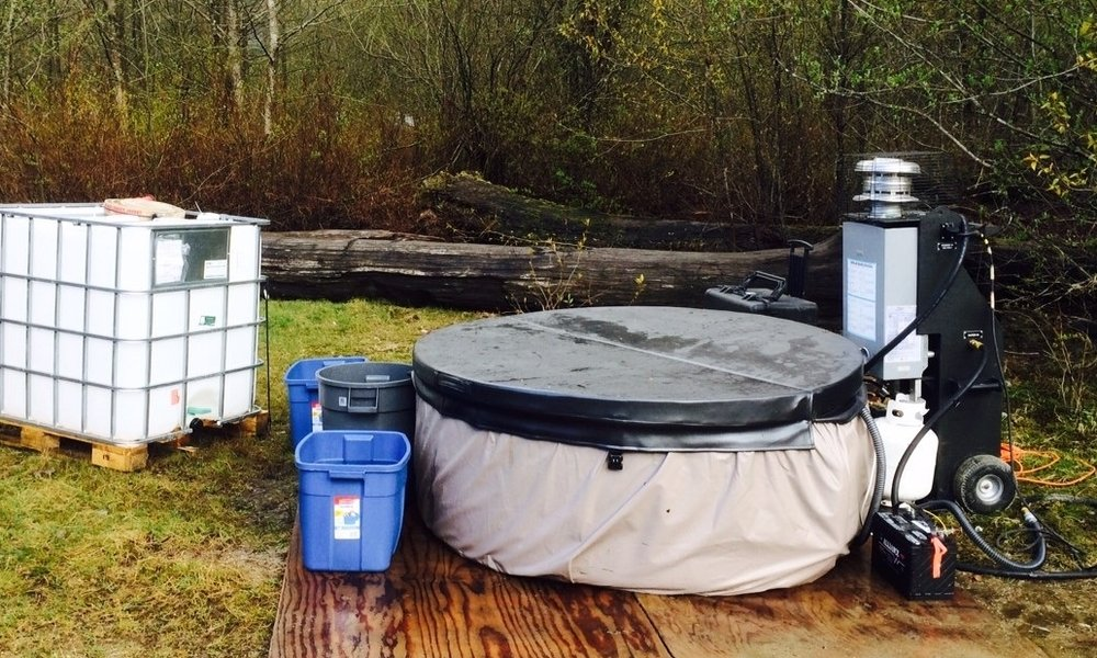 Mobile Hot Tub -