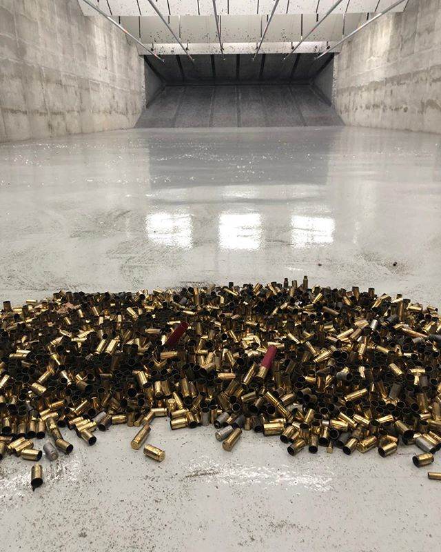Thanks for all who shot at  Jacksrange today. #ammo #daltonsonlyindoorrange #downtowndalton #pewpew #actiontarget