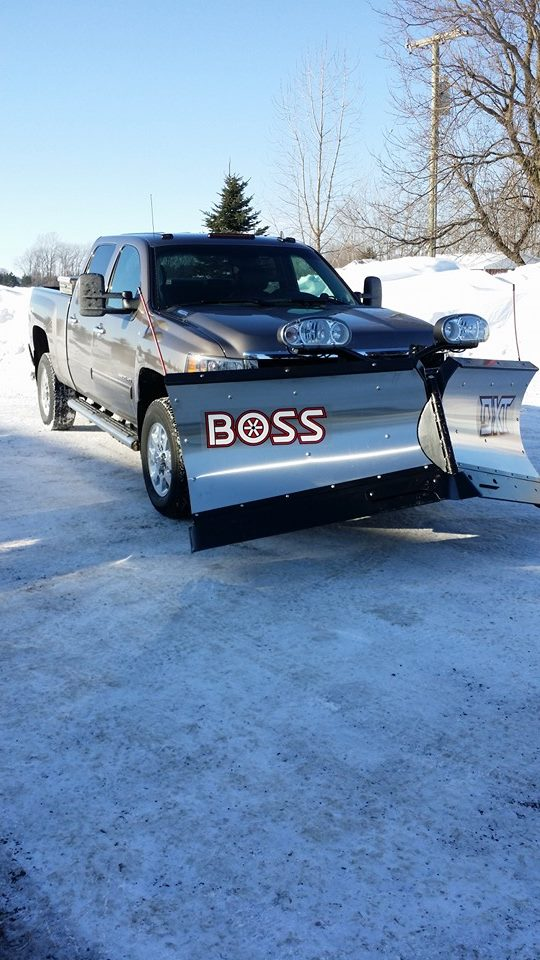 9'2 Stainless V DXT Chevrolet Silverado 2500