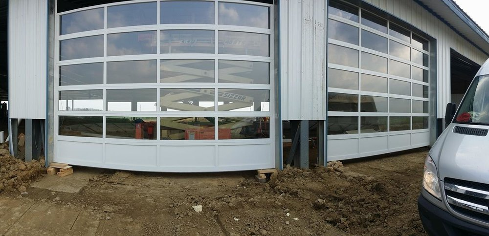 Full View Garage Door CHI Aluminum Doors