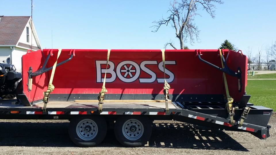 Boss 14' Loader Push Box
