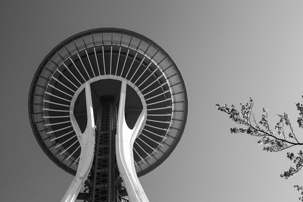 Seattle Space Needle ©Adam Graser Photography