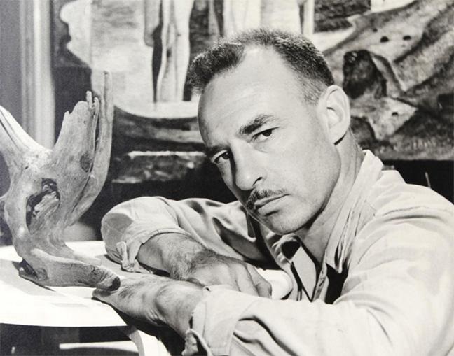 William John Bertram Newcombe, photo by Harold Sumberg