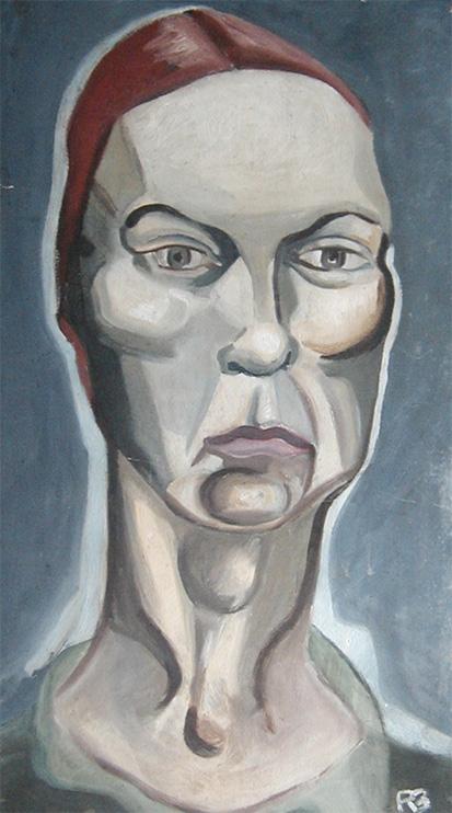Ronald Bladen, Portrait of a Woman n.d.
