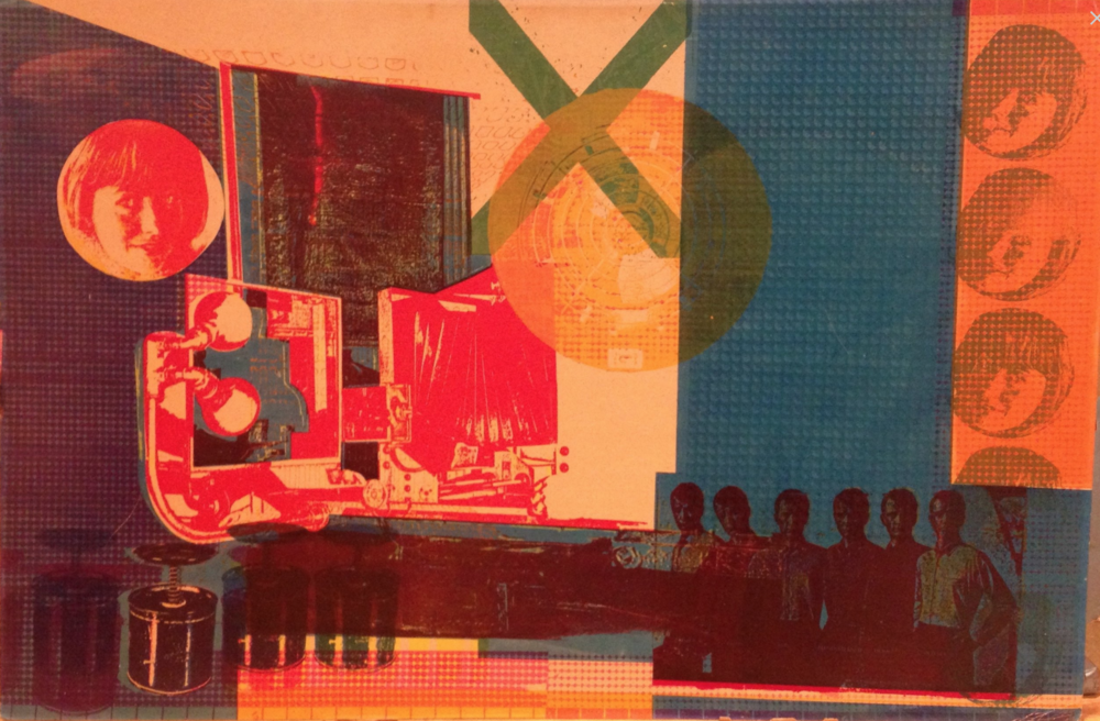 Wayne Eastcott, Green X (Media), 1968   serigraph on illustration board,  from  The Feckless Collection