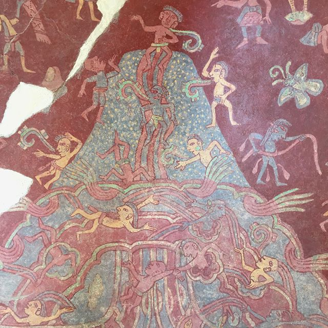 Incredible frescos from the ancient city of Teotihuacan