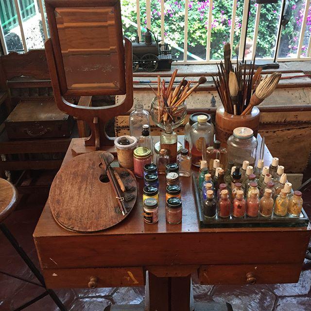 "Freda Kahlo""s studio"