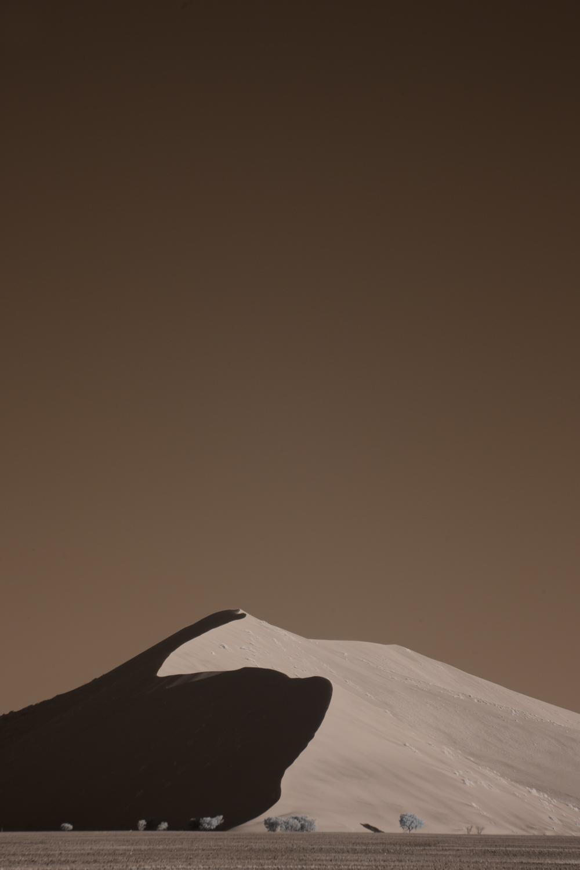 The Silent Dune of Namibia, Sossuvlei.