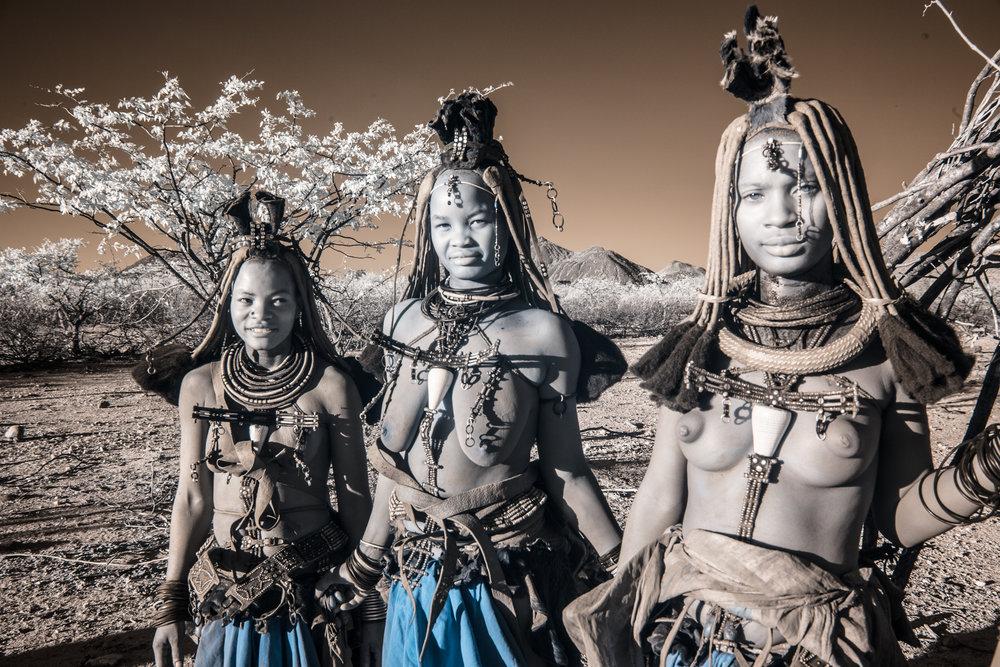Himba girls.