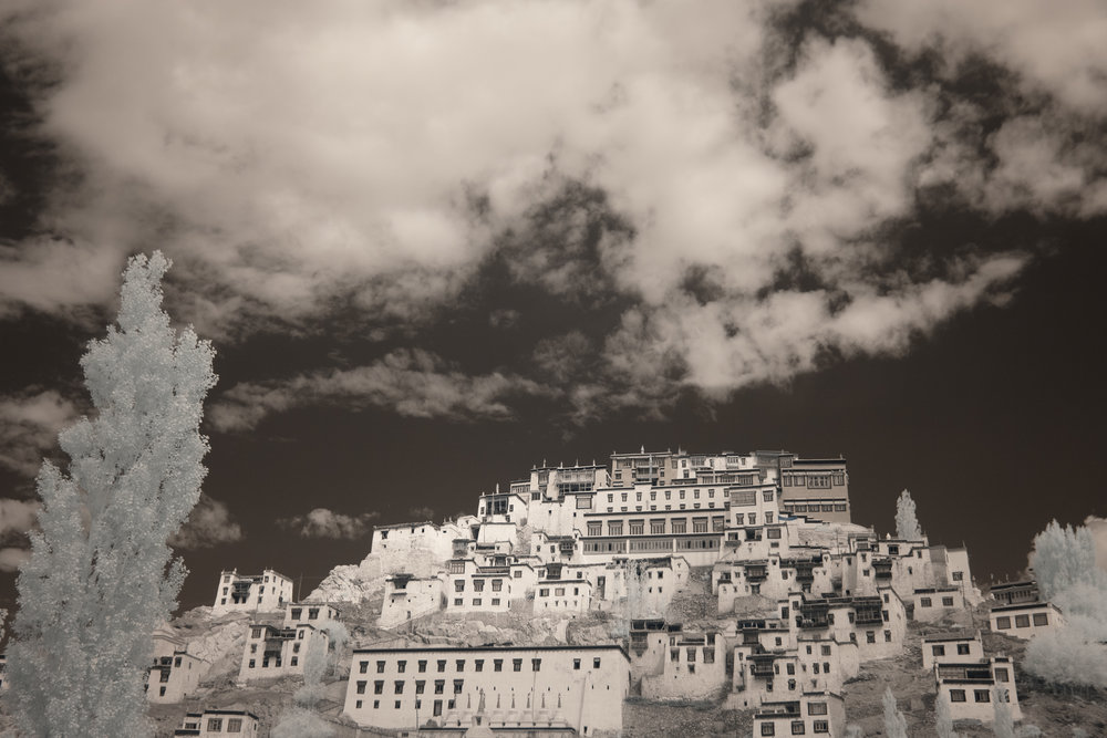 Thiksey Monastery.