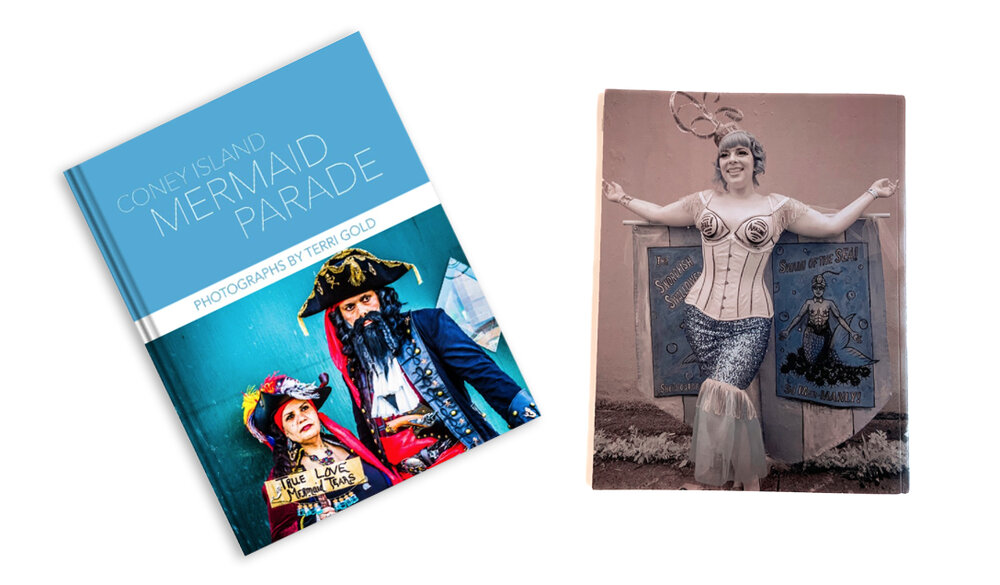 My book of images from 20 years of the Coney Island Mermaid Parade is now available for purchase! -