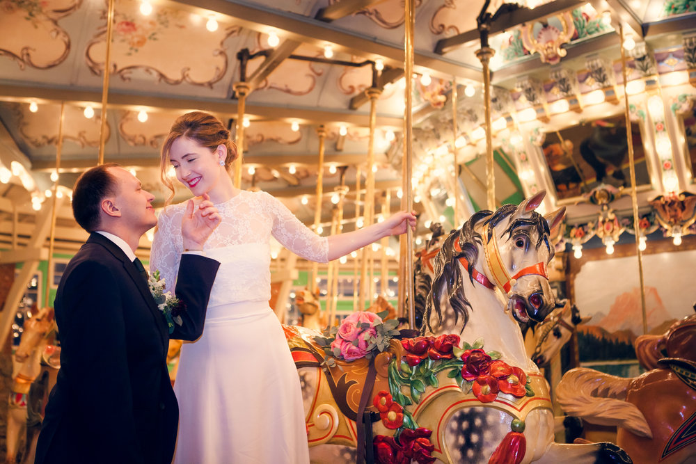 Glen Echo Park wedding