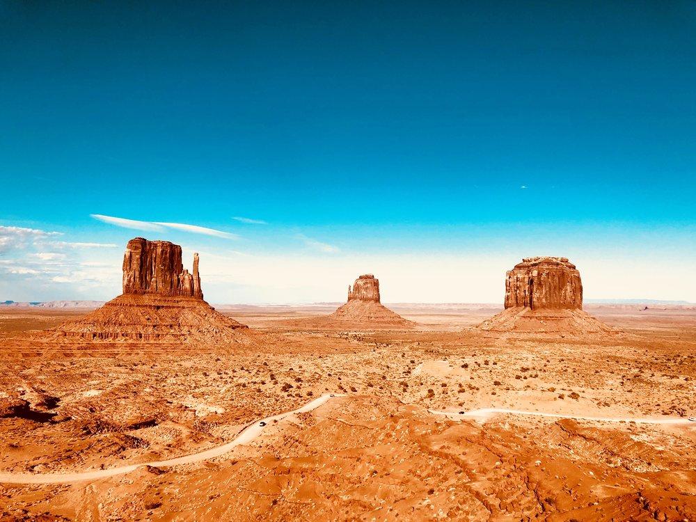Desert expanse, Arizona