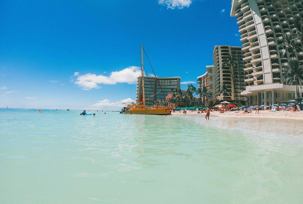 PRE TOUR:Hawaii + California -