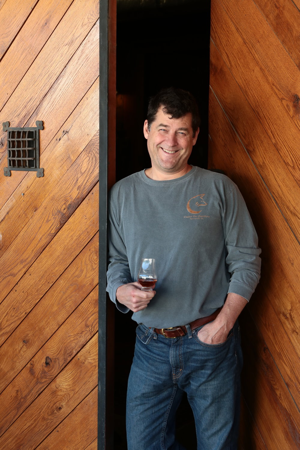 Rick Wasmund, founder of Copper Fox Distillery