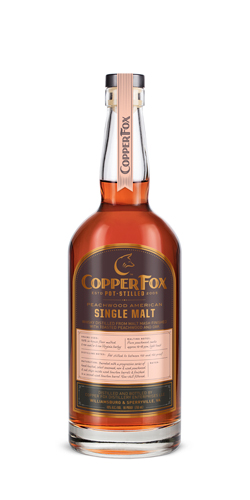 Copper Fox Peachwood American Single Malt