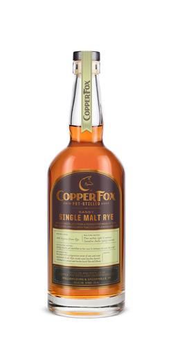 Copper Fox Sassy Single Malt Rye