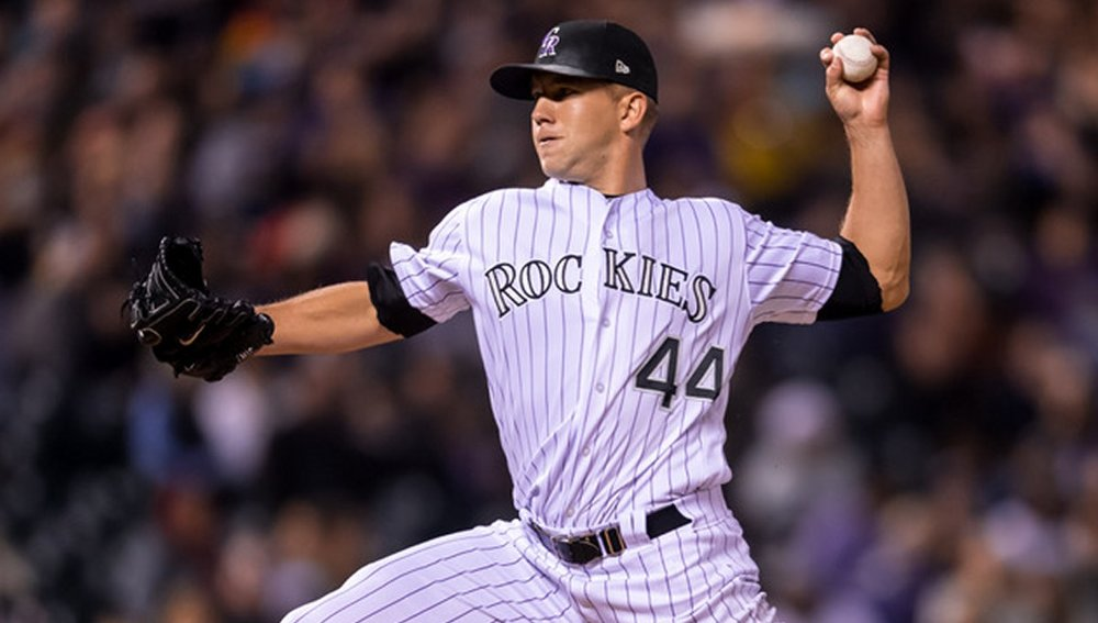 LAS VEGAS PRODUCT TYLER ANDERSON. PHOTO: COLORADO ROCKIES
