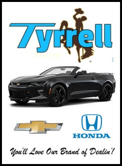 Click Here for Tyrrell's hottest deals on Hondas!