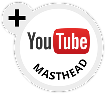 YouTube Masthead Certified